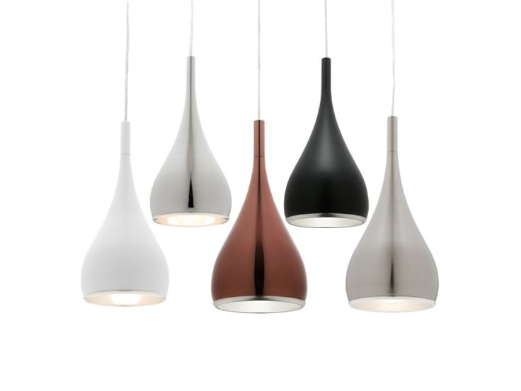 Aero+1+Light+Droplet+Metal+Ceiling+Pendant+-+Cougar+AERO1P, $87.90