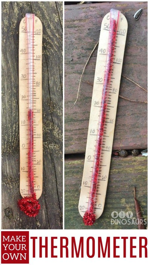 Make your own thermometer to help teach your kids about the weather and counting numbers on a scale. It's easy but one of our best diy crafts yet!
