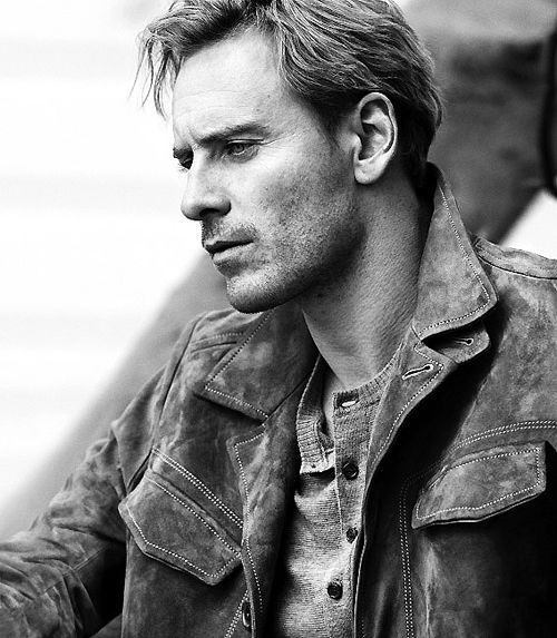 Michael Fassbender. I just have the biggest crush on you.