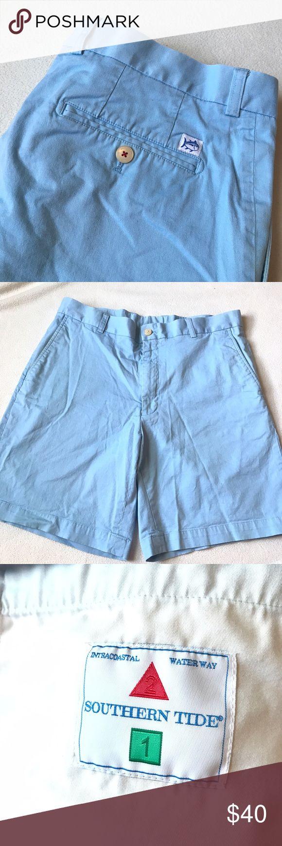Southern Tide Light Blue Shorts Light blue Southern Tide shorts. Size 34. Great condition. Southern Tide Shorts