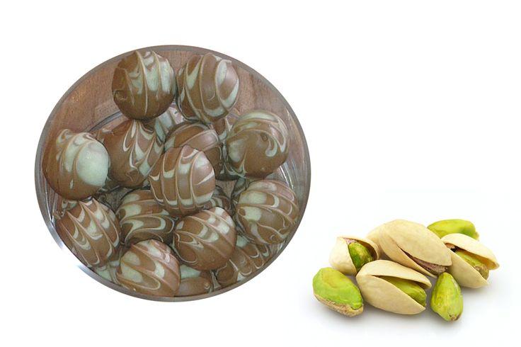 Pralinen Pistazie-Eierlikör | Sonja´s Zuckerbäckerei