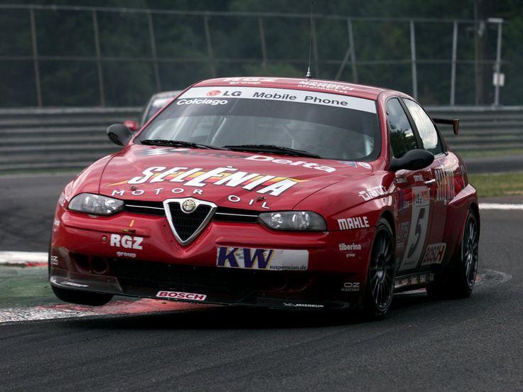 Alfa Romeo 156 race car #alfa #alfaromeo #italiandesign