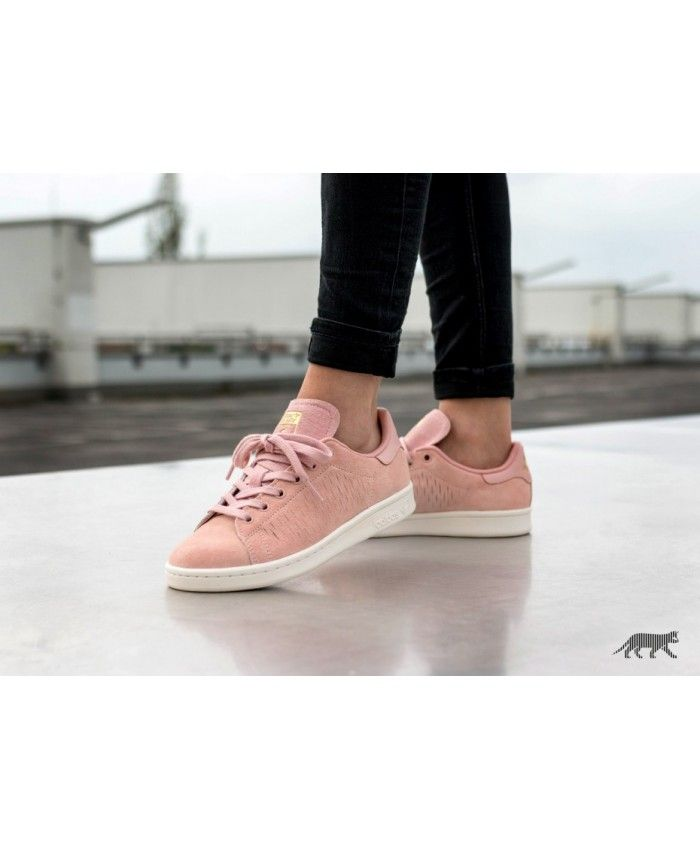 cheaper a53ff 16ca7 Adidas Stan Smith W Haze Coral Chalk Rose Gold Shoe