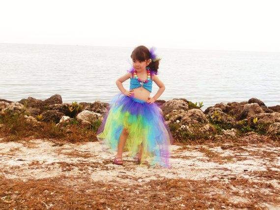 how to make a toddler little mermaid costume