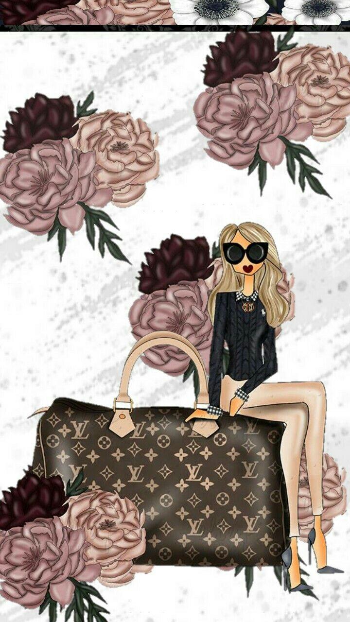 Wallpaper In 2019 Fashion Art Louis Vuitton Iphone