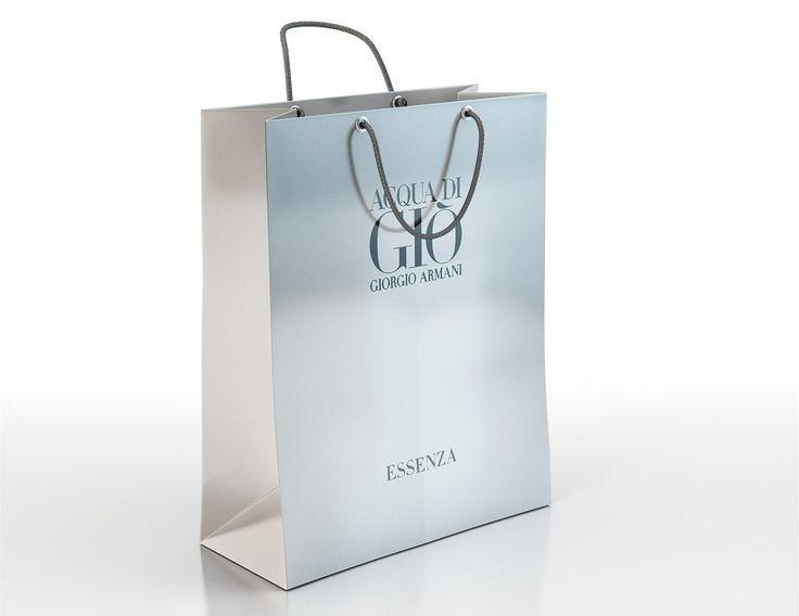Armani Shopping Bag
