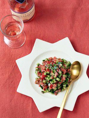 夏に食べたくなる爽やかなコロコロ食感|『ELLE a table』はおしゃれで簡単なレシピが満載!