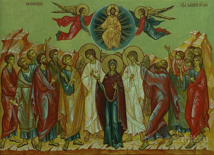 'The Ascension'. Kolbneva Irina