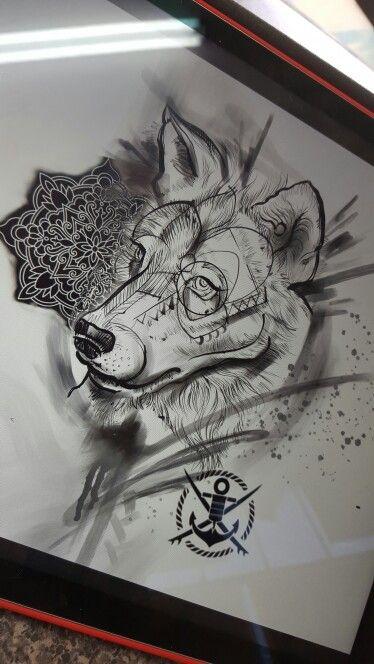 Best 25 Mandala Wolf Ideas On Pinterest Animal Mandala