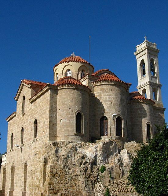 Theoskepasti Church, Paphos, Cyprus (by speedygroundhog on Flickr (cc))