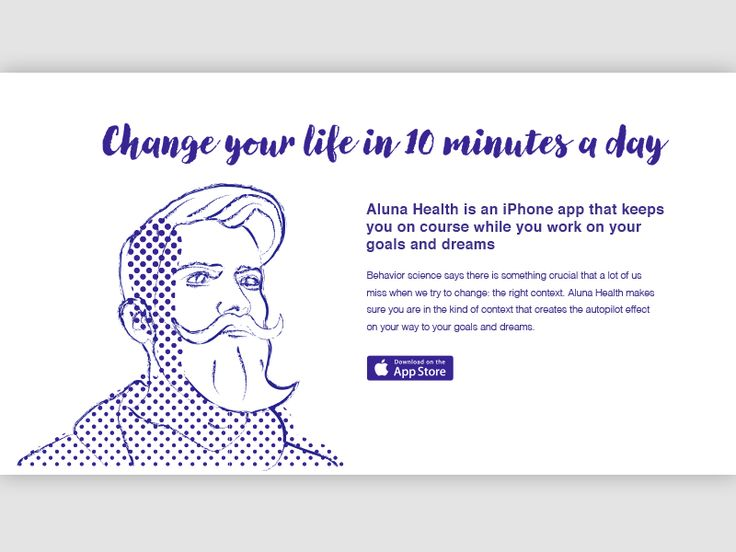 Aluna Health. Aluna Health is an app that gives you an optimal structure to achieve your goals.