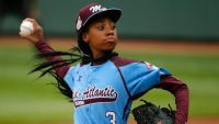 Showing the same competitive fire she did on the Williamsport mound, Mo'ne Davis is focusing on AAU basketball and challenging the best prospects in the country.