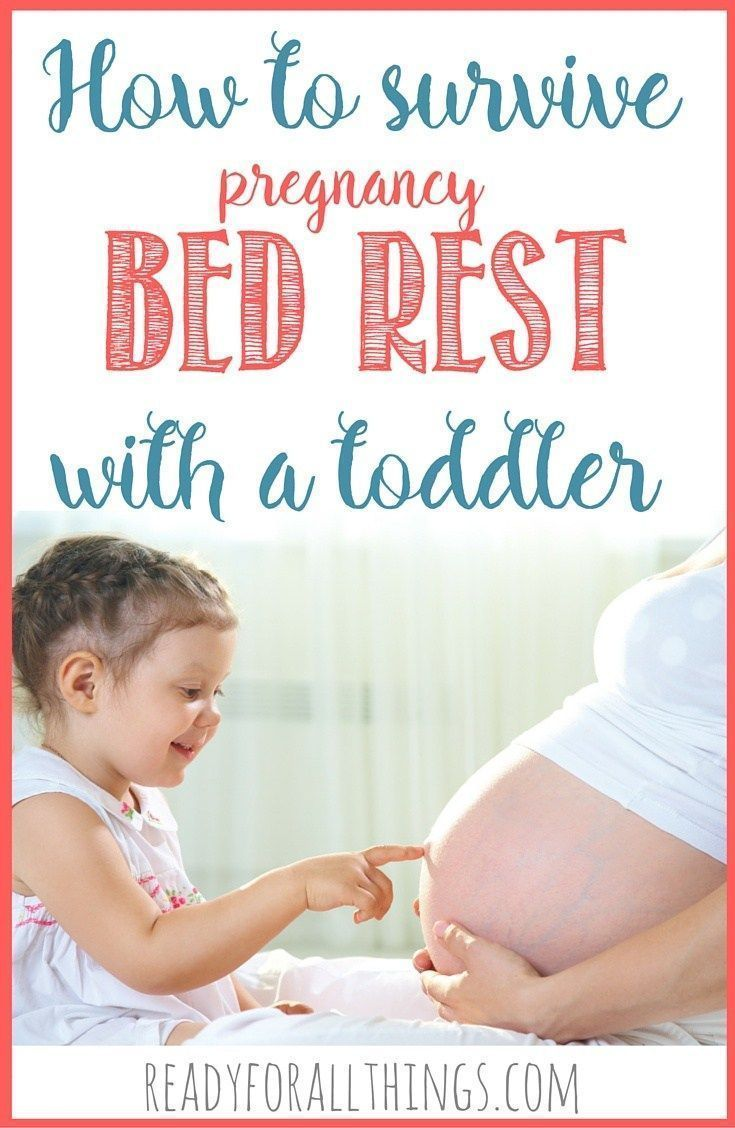 Parenting a toddler is always challenging, but when you're on bed rest due to pregnancy or surgery, it's nearly impossible! Here are some survival tips from a woman who's been there. These are the ideas you need for activities and meals to keep your littl