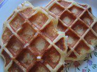 les petits plats de trinidad: Gaufres Liégoises