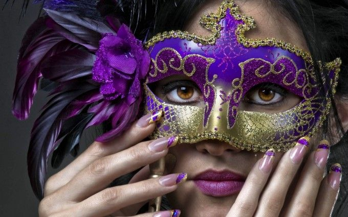 Zelf carnaval masker maken - Hobby.blogo.nl