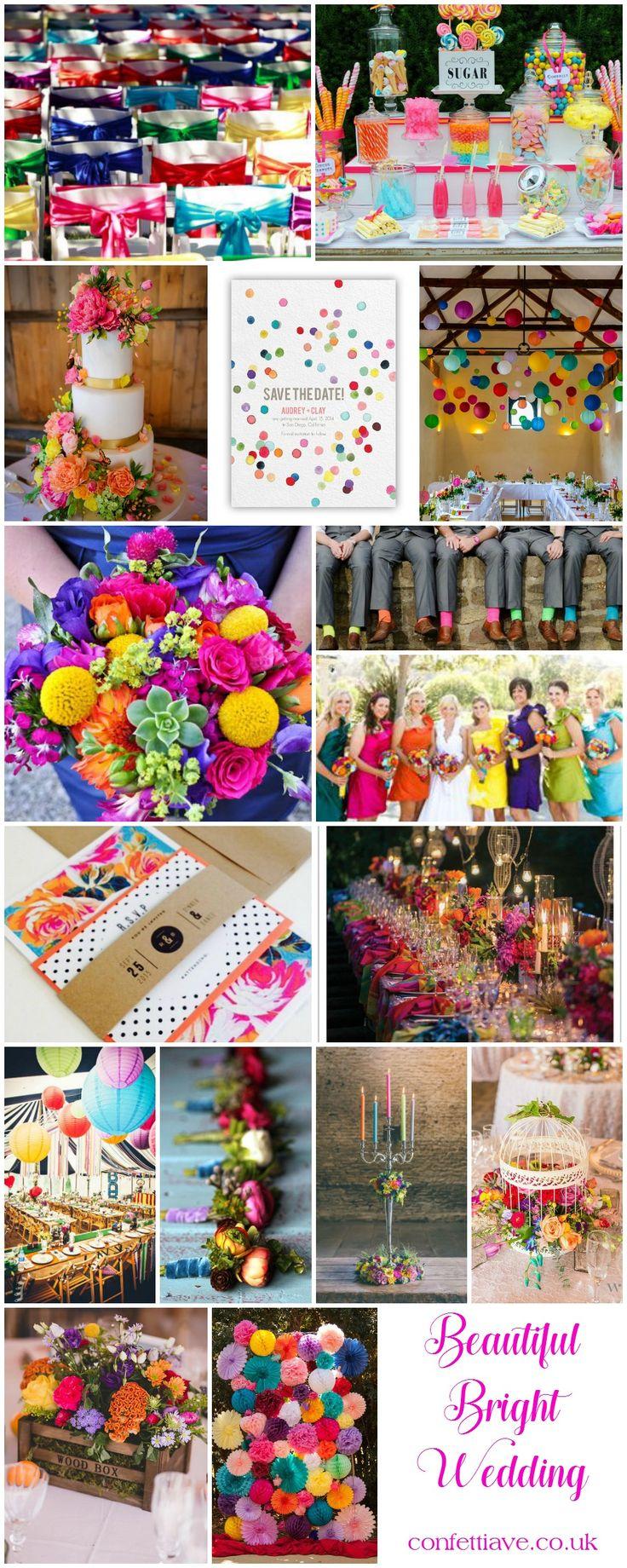 Beautiful Bright Wedding | Mood Board http://confettiave.co.uk/beautiful-bright-wedding