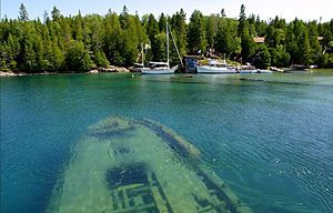 Tobermory, Ontario - Cold Water - Diving Mecca