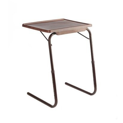 Nice Classy Tv Tray   Wood Grain Table Mate Portable Side Table From Target $30