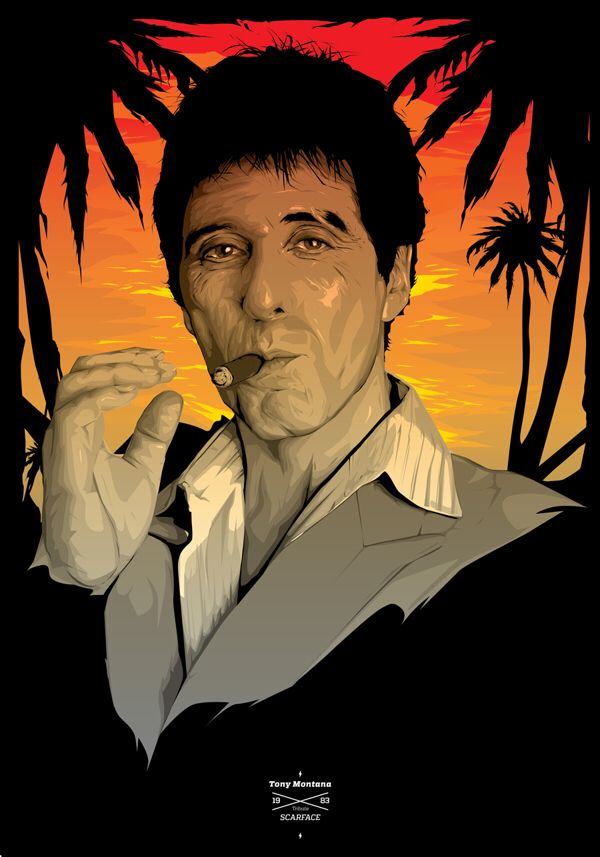 33 besten Tony Montana Bilder auf Pinterest | Filmposter, Scarface ...
