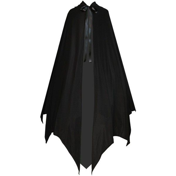 Victorian Vagabond Gothic Game of Thrones Vampire Bat Steampunk Cape... ($49) ❤ liked on Polyvore featuring cape