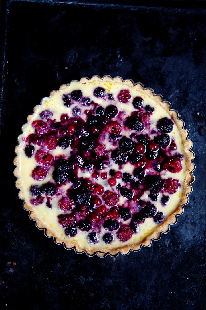 Berries, Tarts and Yogurt on Pinterest