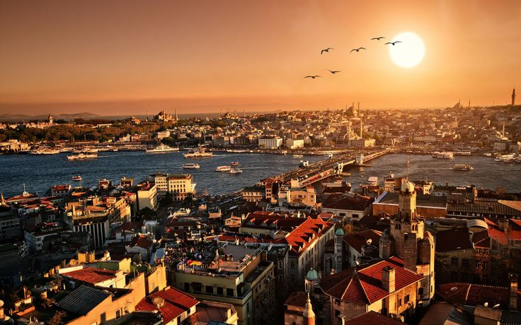 Istanbul skyline...like no others..stunning