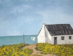 """""""Fisherman's cottage at Paternoster"""""""