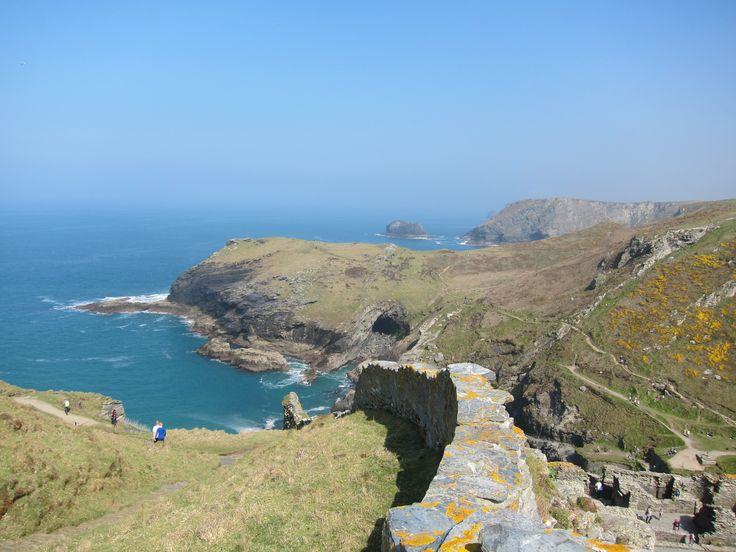 The Cliffs of Tintagel