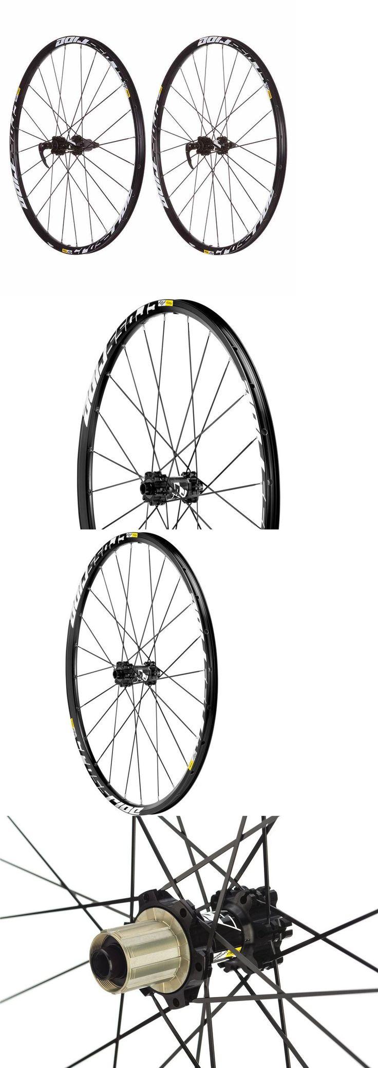Wheels and Wheelsets 177830: Brand New Mavic Crossride Disc 26 27.5 29 Mtb Wheelset W Avid G3 Rotor -> BUY IT NOW ONLY: $159.9 on eBay!