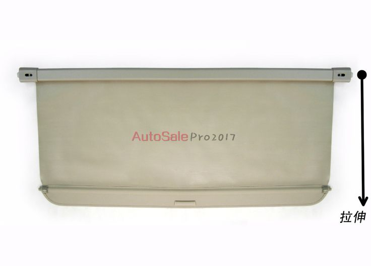 Aluminium alloy + Fabric Rear Trunk Security Shield Cargo Cover For Mitsubishi Outlander 2007 2008 2009 2010 2011 2012 #Affiliate
