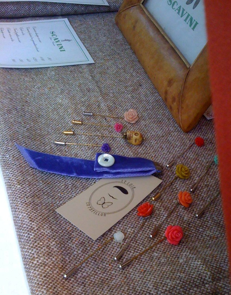 épingles à mettre à la boutonnière Le Loir en Papillon  www.leloirenpapillon.com   #dandy #leloirenpapilloncom #leloirenpapillon #noeudpapillon #noeudpapillonsurmesure #noeudpapillonfrancais