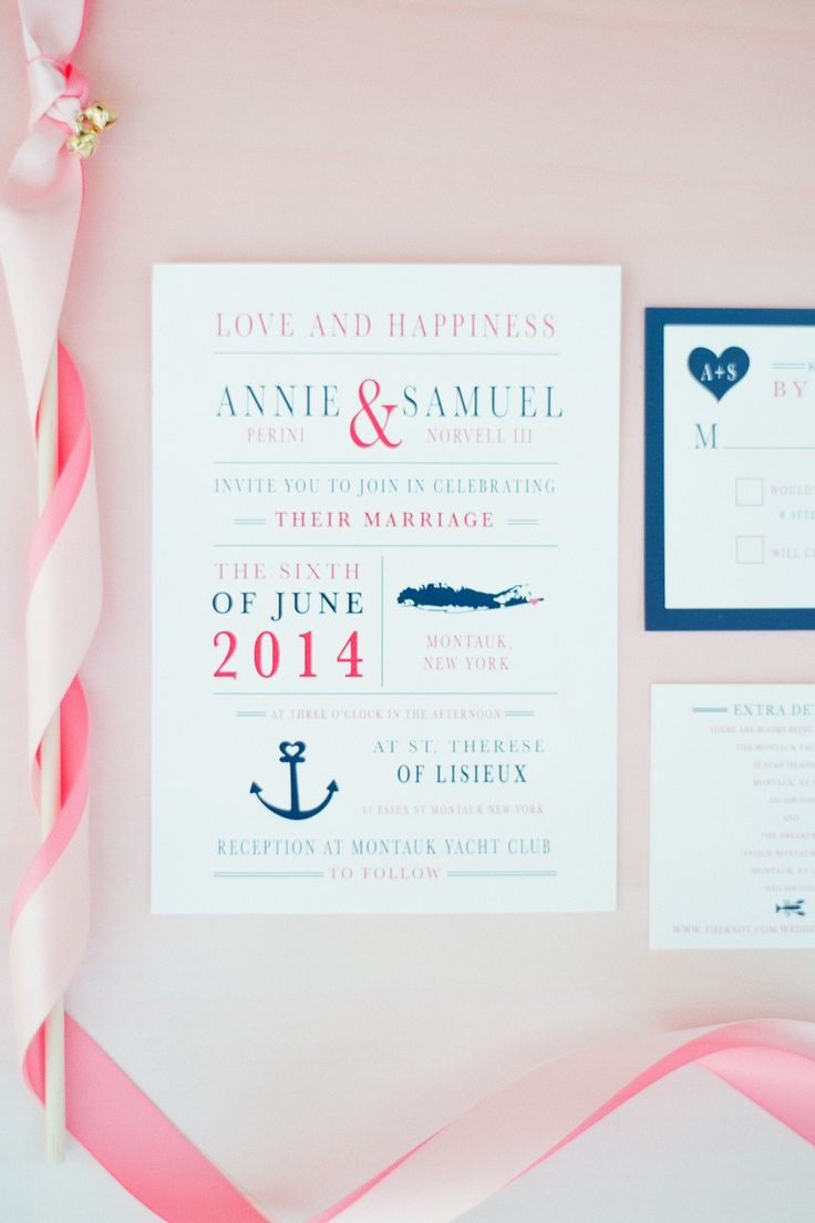 #nautical  Photography: Brklyn View Photography - www.brklynview.com  Read More: http://www.stylemepretty.com/2014/08/21/blush-and-gold-seaside-wedding-in-montauk/