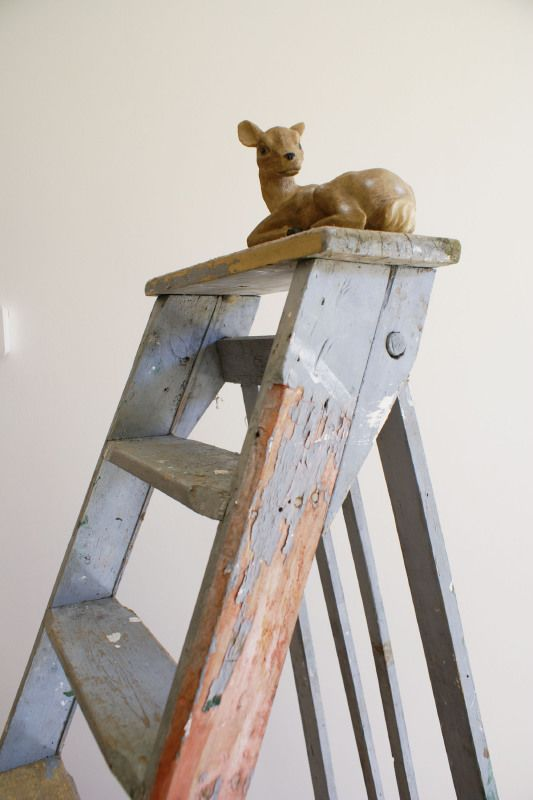 25 best ideas about oude houten ladders on pinterest houten ladder inrichting antieke ladder - Huis trap decoratie ...