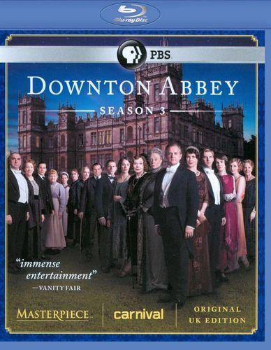 Masterpiece: Downton Abbey - Season 3 [Blu-ray]