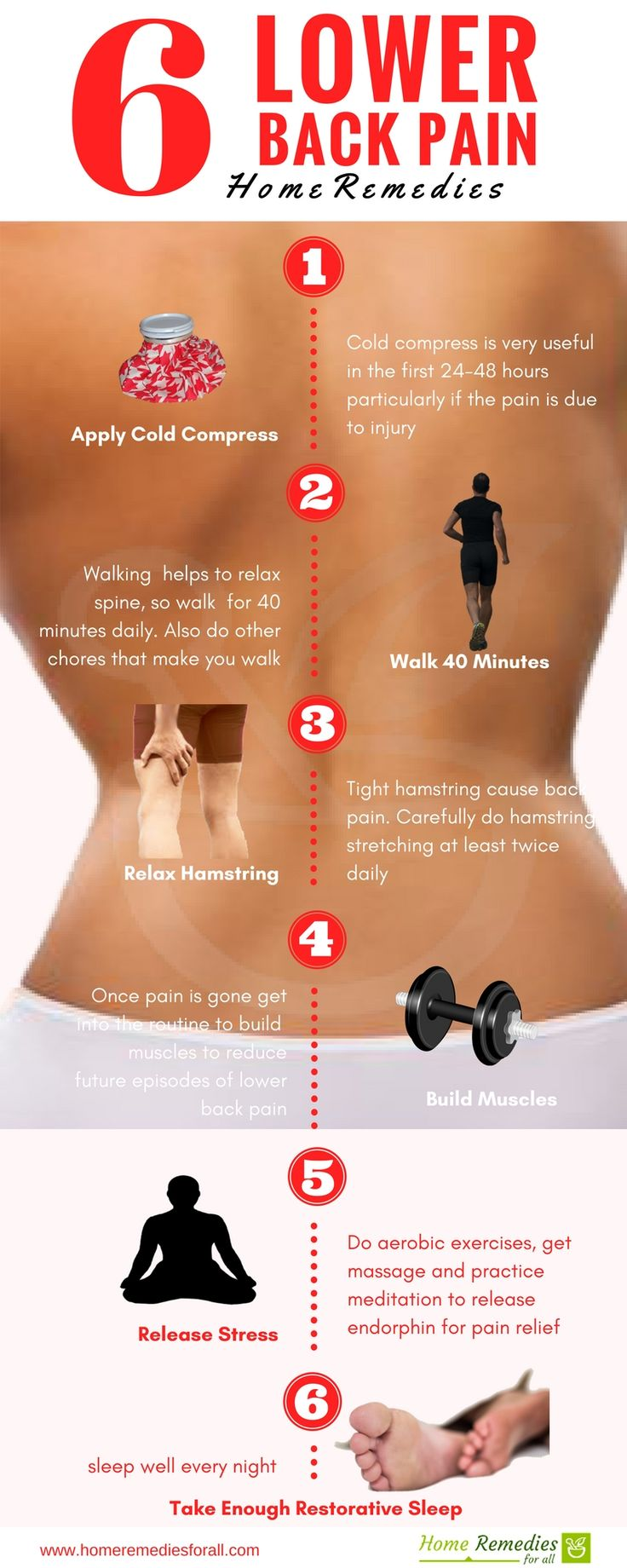 Use These Effective Home Remedies For Back Pain And Fell