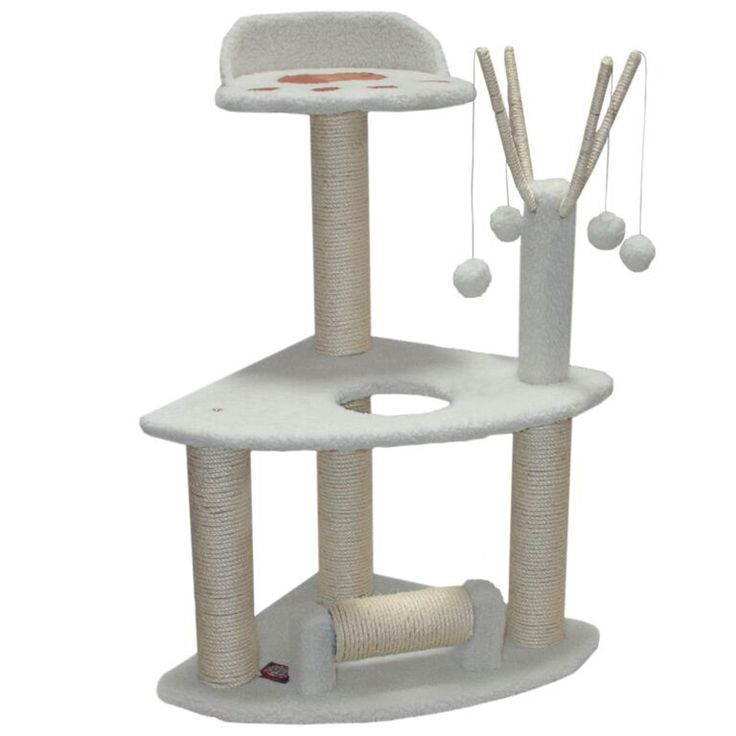 "36"" Bungalow Cat Tree Condo Scratching Post"