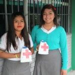 PARTICIPAN ESTUDIANTES EN COLECTA NACIONAL DE CRUZ ROJA MEXICANA