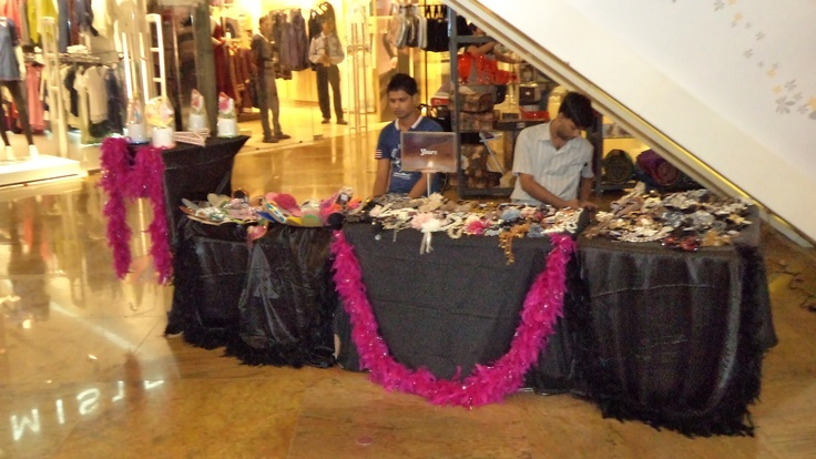 Woman's fashion Collection at the Diwali Bazaar, Forum Mall.