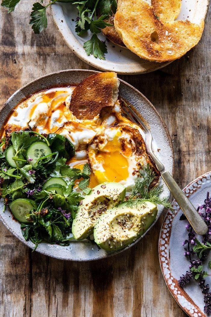 Turkish Eggs with Chile Butter and Whipped Feta