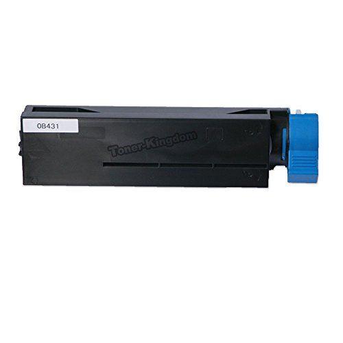 Okidata 44574701 B411 / B431 Black Laser Toner Cartridge Compatible for use in Oki Printers B411, B411d, B411dn, B431, B431d, B431dn, Mb461 Mfp, Mb471, Mb471w