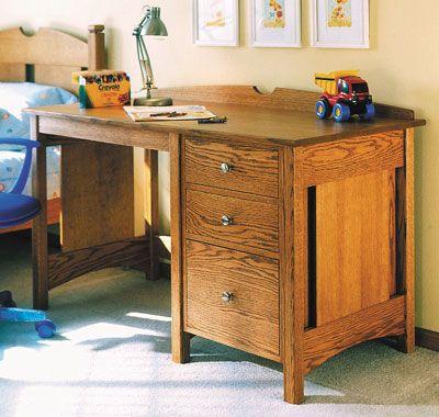 Child Desk Woodworking Plan, Kid Furniture Project Plan   WOOD Store