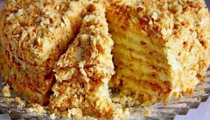 """Самый вкусный торт """"Светлана"""" без выпечки. Справится любая хозяйка!"""