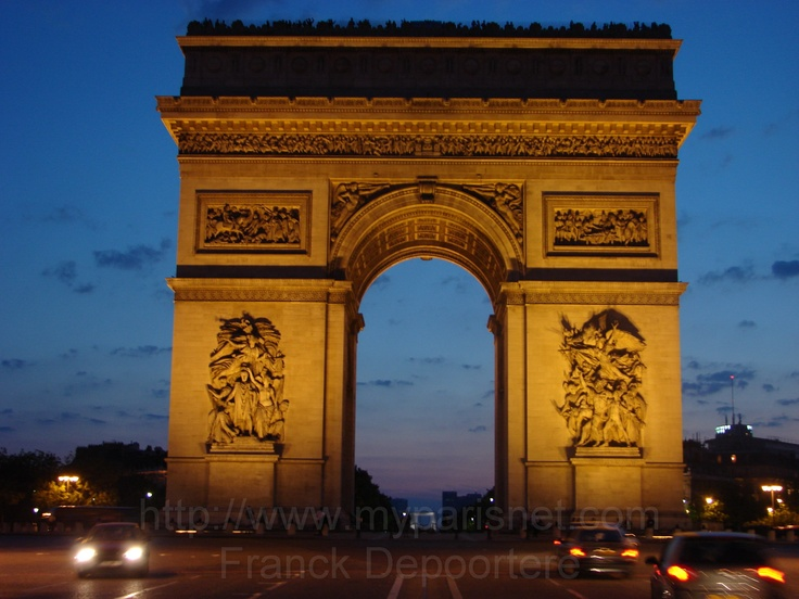 Arc de Triomphe in France - Bing Images