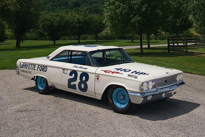 Gurney's 1963 Ford Galaxie Holman & Moody NASCAR Race Car