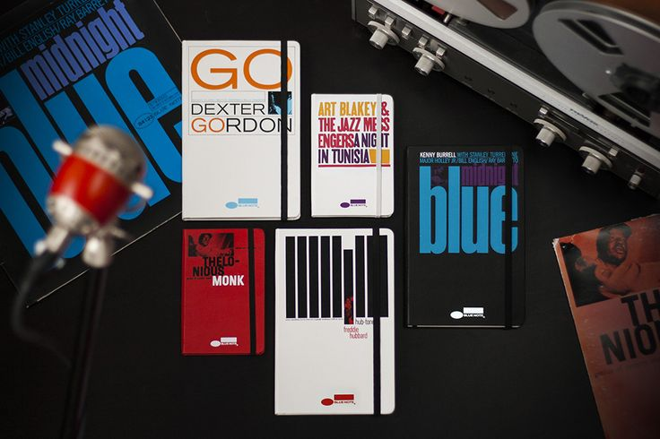 Blue Note Limited Edition Notebook Collection