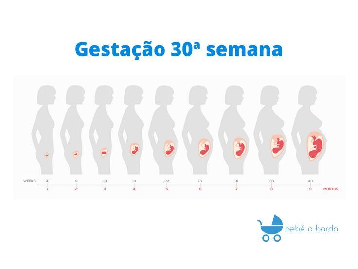 Gestação 30 semanas