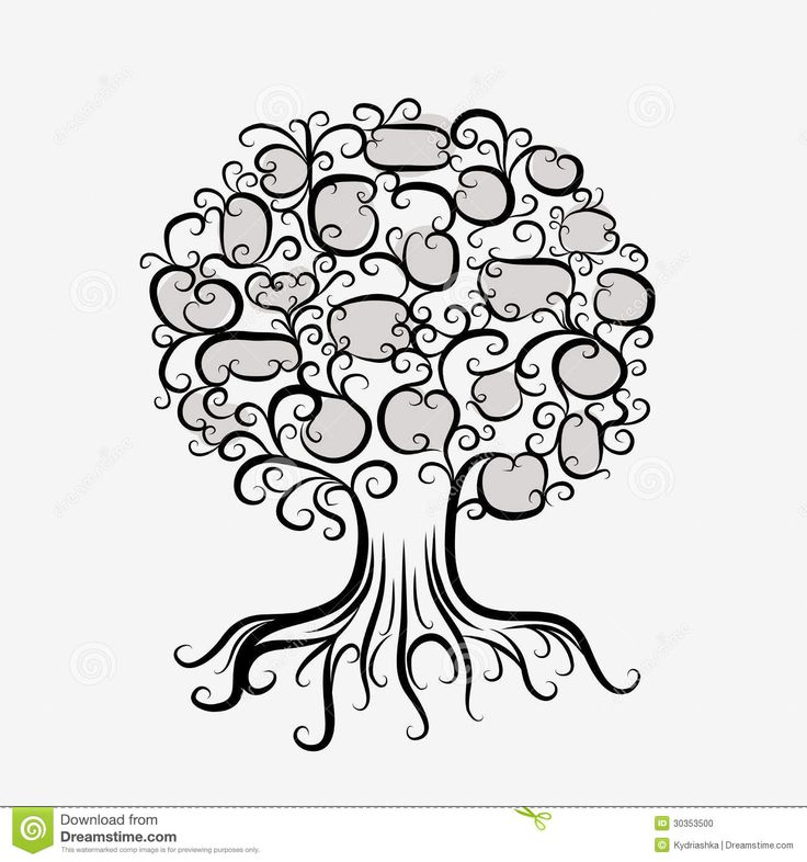 boom met gezichten en wortels - Google zoeken