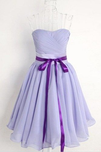 Sweet Lavender Fairy Dress. Strapless Bridesmaids Dress Cocktail Dress.