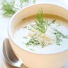 Romige venkelsoep met Parmezaanse kaas - recept - okoko recepten