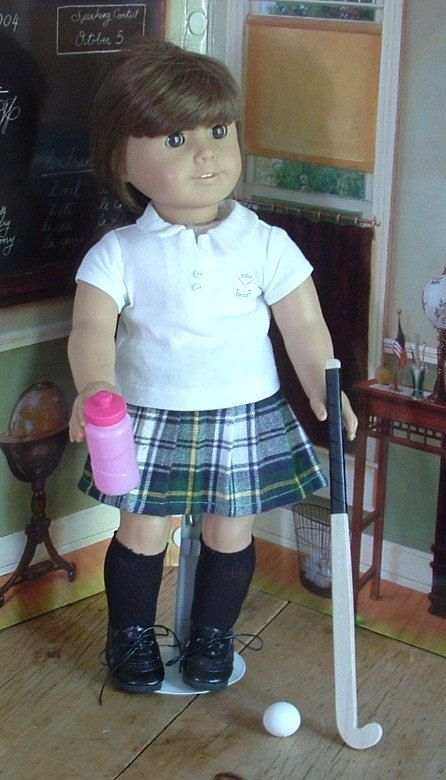 Ugh, I wish i had asked for this american girl doll, Field Hockey